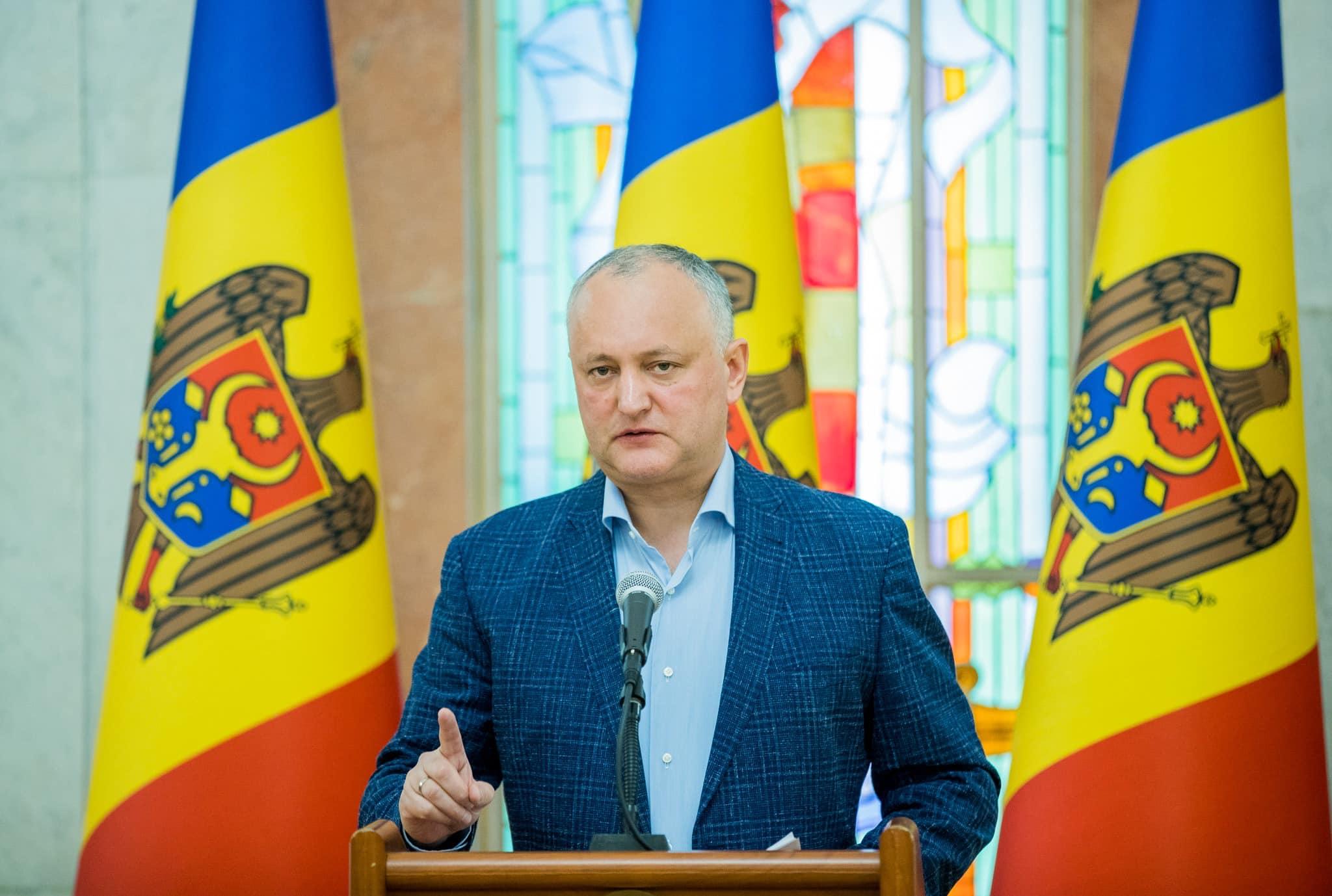 Igor Dodon remains the leader of citizen confidence