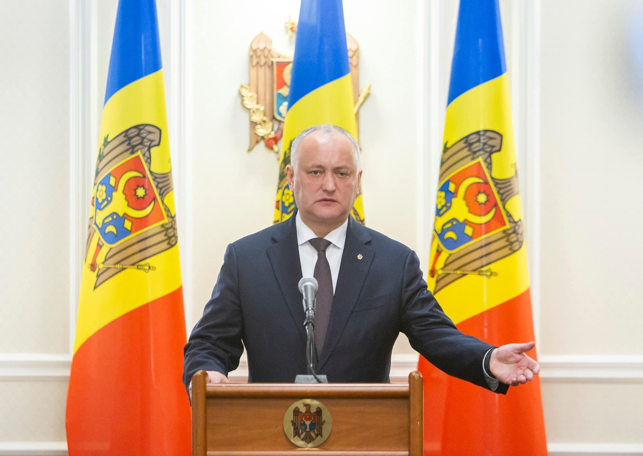 Президент: Если не будет большинства, приглашу Гречаный, Филипа, Санду и Нэстасе и будем решать, что делаем дальше