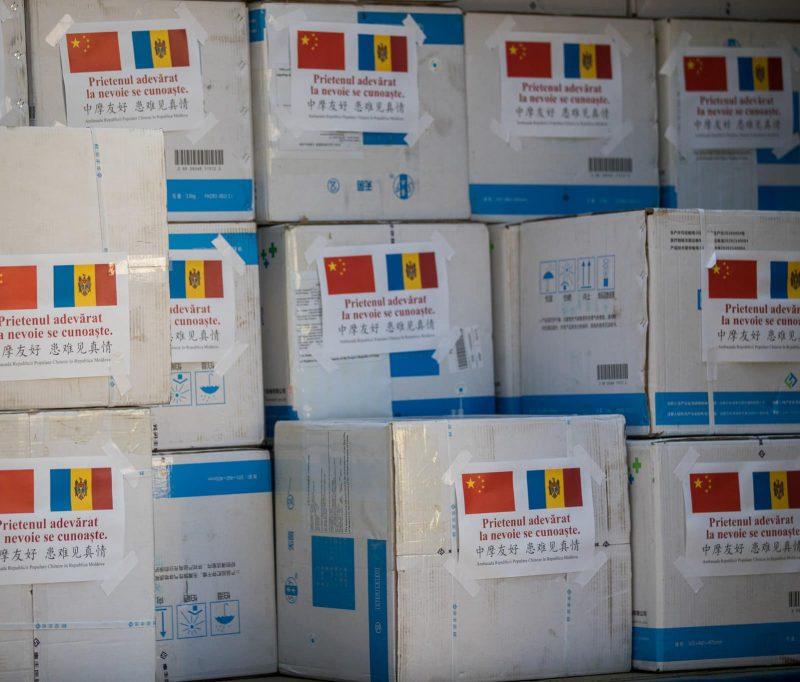 Сказано – сделано! Партия гуманитарной помощи из Китая прибыла в Молдову (ФОТО, ВИДЕО)