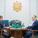 Игорь Додон провел встречу с послом Азербайджана в Молдове (ФОТО)