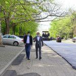 На Рышкановке стартовал ремонт участка улицы Мирон Костин (ФОТО)