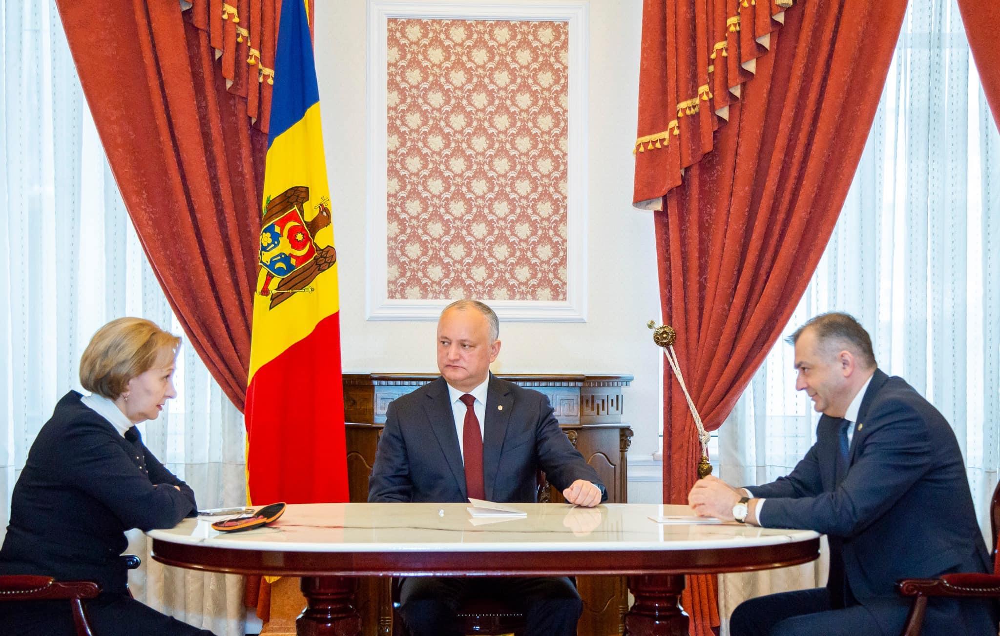 Еженедельное совещание руководства Молдовы: о чем говорили Додон, Кику и Гречаный (ФОТО, ВИДЕО)