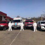 Спасатели объезжают районы страны и информируют граждан о мерах борьбы с COVID-19 (ФОТО)