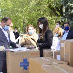 Столичным больницам передадут очередную партию средств индивидуальной защиты для борьбы COVID-19 (ФОТО)