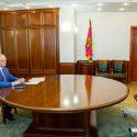 Президент провел онлайн-дискуссию со своим литовским коллегой (ФОТО, ВИДЕО)