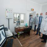 Президент проверил готовность районной больницы Шолданешт к приему пациентов с коронавирусом (ФОТО, ВИДЕО)
