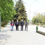 Чебан проинспектировал обновленные аллею и лестницу на бульваре Дачия (ФОТО)