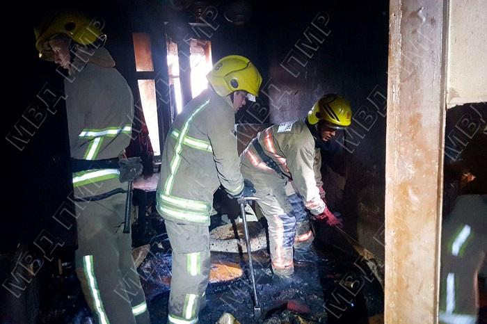 Трагедия в Тирасполе: пожар унёс жизнь мужчины