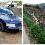 ДТП в Рыбнице: водитель не справился с управлением и влетел в соседский забор