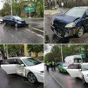 Беременная женщина пострадала в аварии в Тирасполе