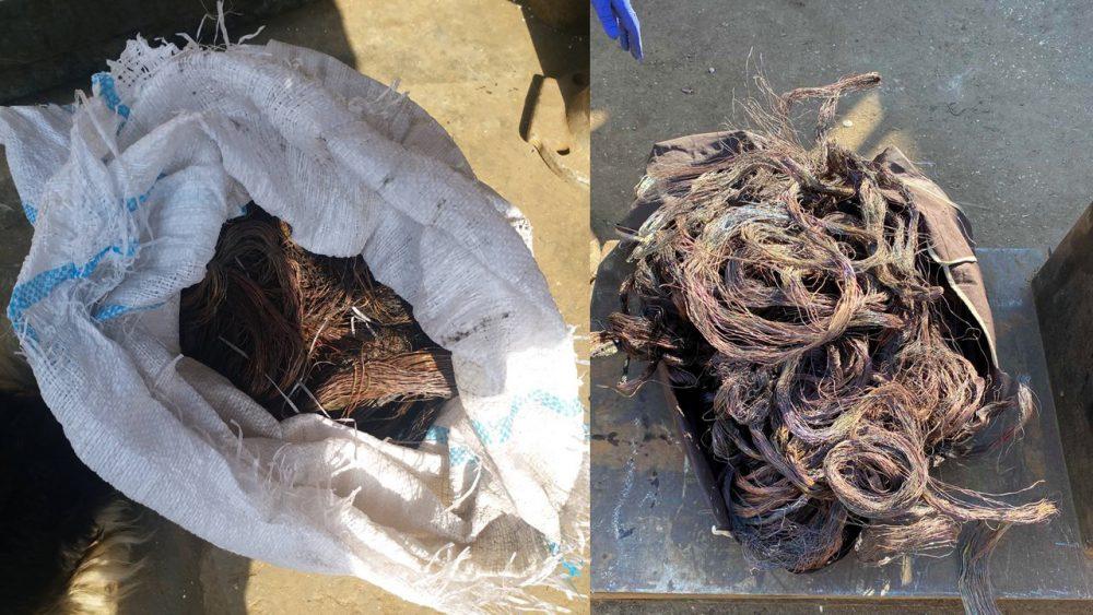 Житель столицы украл 500 метров медного кабеля и попался в руки полиции (ВИДЕО)