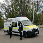 Профилактика COVID-19: полицейские ежедневно патрулируют улицы населённых пунктов (ВИДЕО)