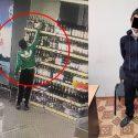 """Взял бутылку и прошел с ней мимо кассы: ушлый """"покупатель"""" в Кишиневе попал на видео (ВИДЕО)"""