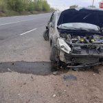 ДТП в Страшенах: водитель уснул за рулём и врезался в рекламный щит (ФОТО)