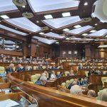 Депутаты партий Санду, Нэстасе и Шора и группы Канду выступили против ратификации кредитного соглашения с Россией