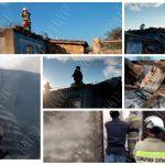 Крупный пожар оставил без крыши над головой многодетную семью