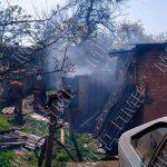 Непотушенный окурок стал причиной пожара в Тирасполе