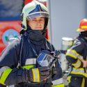 Неосторожность рабочих привела к пожару в магазине