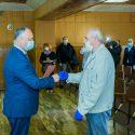 Президент встретился с руководством Унген и посетил районную больницу (ФОТО, ВИДЕО)