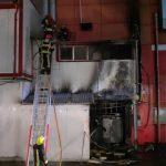 В котельной магазина на Албишоаре произошел пожар