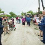 Президент навестил с подарками многодетную семью в Унгенах и ветерана ВОВ (ФОТО, ВИДЕО)