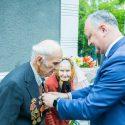 Еще один ветеран ВОВ получил Орден Республики от президента (ФОТО)