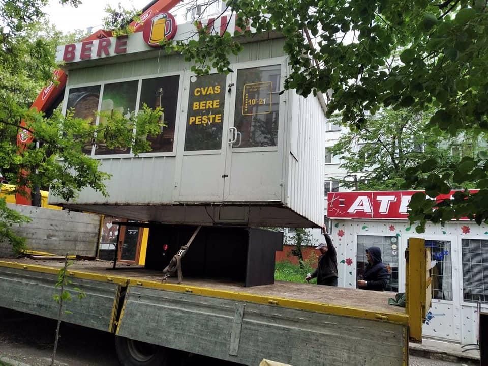 Работы по очистке города от построек-нелегалов продолжаются (ФОТО)