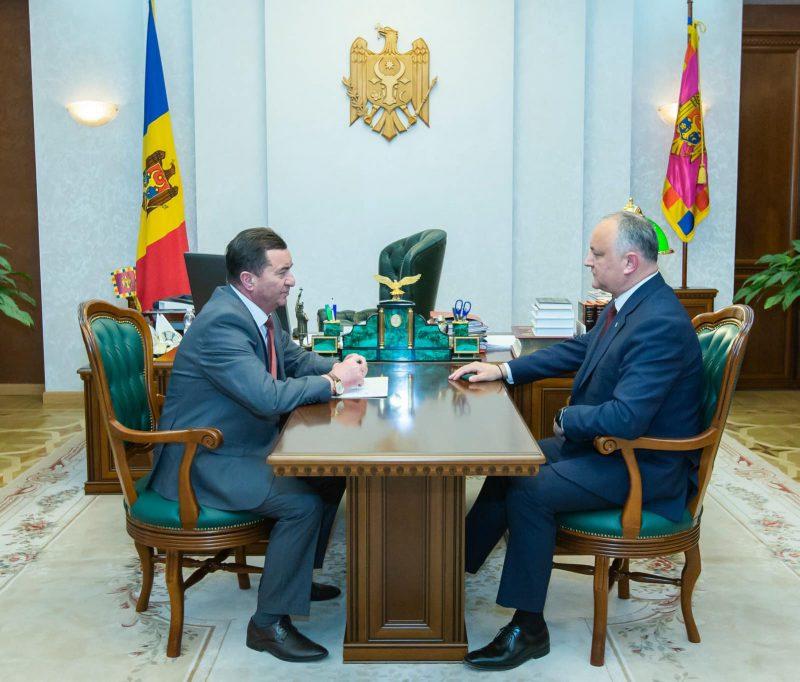 Президент пообещал оказать содействие в решении проблем Тараклийского района (ФОТО)