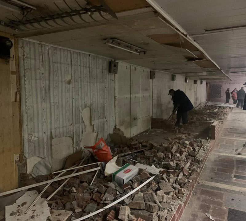 Ещё один столичный подземный переход отремонтируют этим летом (ФОТО)