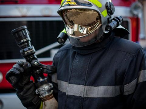 В результате пожара в Яловенском районе скончался мужчина