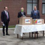 Молдова получила гуманитарную помощь от Болгарии для борьбы с коронавирусом