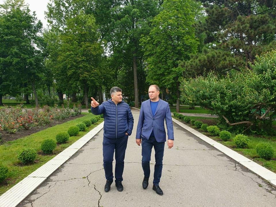 Чебан проинспектировал пешеходные зоны столицы (ФОТО)
