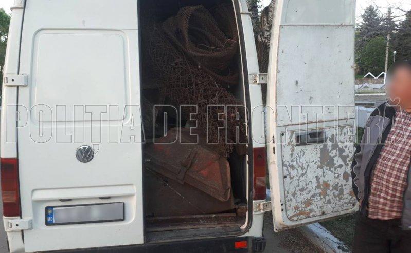 Набитый контрабандным металлоломом автобус обнаружили в приграничной зоне (ФОТО)