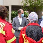 Чебан посетил столичную больницу, где вместе с молдавскими специалистами трудятся румынские врачи (ФОТО)