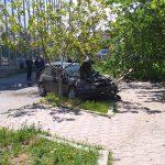 В результате аварии в Комрате пострадали мужчина и женщина (ФОТО)