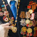 Президент вручил Орден Республики ветерану ВОВ в Фалештах (ФОТО, ВИДЕО)