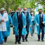 Президент совершает визит на север Молдовы (ФОТО)