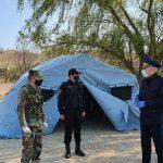 Спасатели продолжают следить за порядком в карантинных зонах