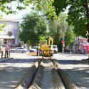 На улице Тигина ведутся работы по замене подземных коммуникаций (ФОТО)
