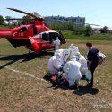 Экипаж SMURD доставил в Кишинёв пациента с сердечной патологией (ФОТО)