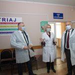 Президент посетил районную больницу Дрокии (ФОТО, ВИДЕО)