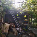 Пожар в Бельцах: загорелся гараж