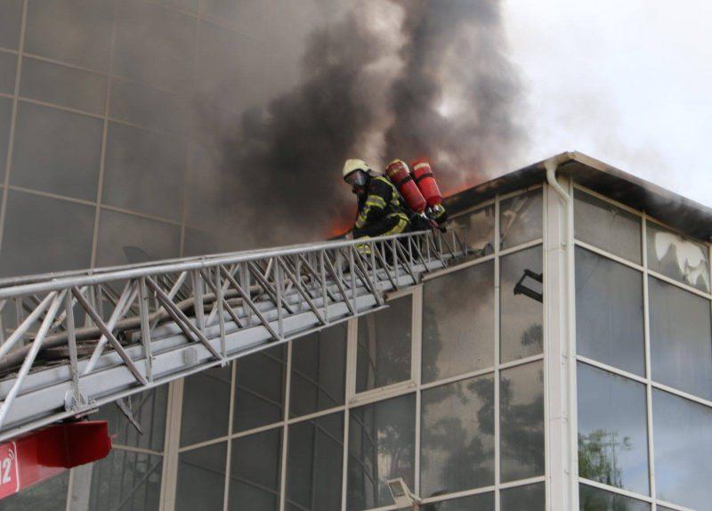 Пожар на Moldexpo: специалисты рассматривают две версии