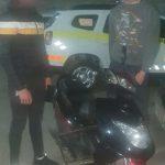 Позарились на чужое: двое молодых людей попались на угоне мотоцикла (ВИДЕО)