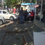 Невнимательный водитель спровоцировал цепное ДТП в столице (ФОТО)