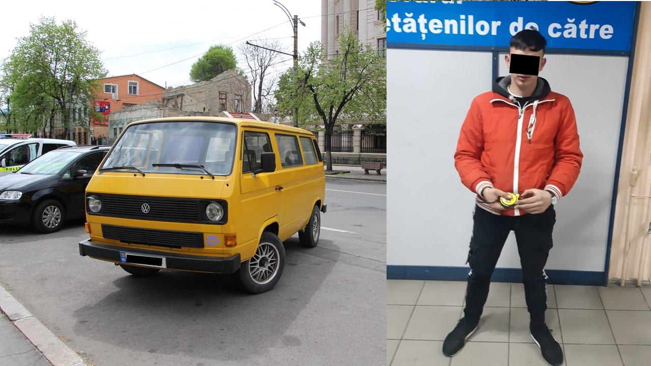 """В Кишиневе двое подростков угнали машину, """"чтобы покататься"""" (ВИДЕО)"""