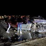 Пять человек пострадали в результате серьёзной аварии в Бачой (ВИДЕО)
