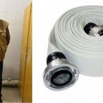 В столице поймали мужчину, который похищал из подъездов пожарные рукава (ВИДЕО)