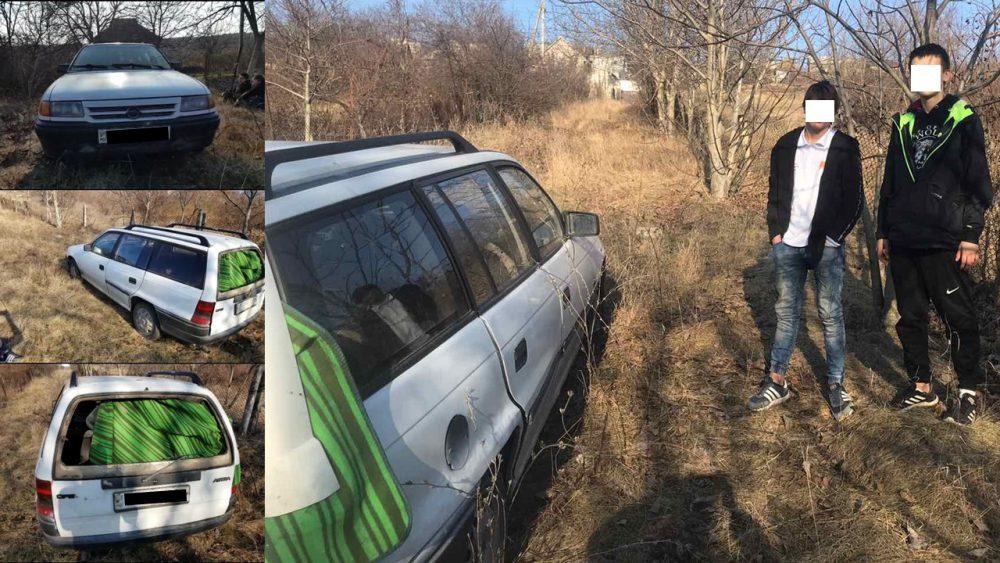 Угнали машину, покатались и бросили: двух юных нарушителей поймали на Рышкановке
