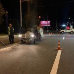 В столице стартовали работы по нанесению дорожной разметки (ВИДЕО)